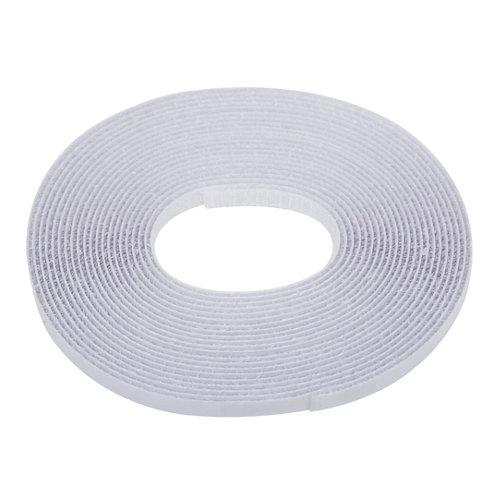 Rollo de cinta blanca autocierre de 5.6x0.002m