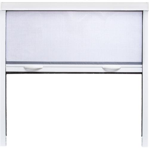 Mosquitera enrollable artens ventana con tela de fibra de vidrio de 100x100 cm