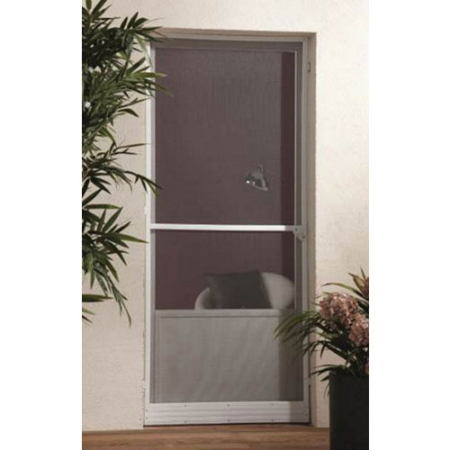Mosquitera abatible de 1 hoja para puerta de 100x220 cm