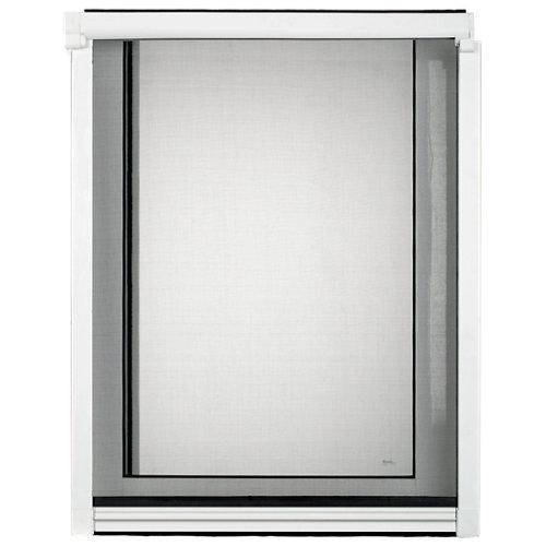 Mosquitera enrollable artens ventana con tela de fibra de vidrio de 130x160 cm