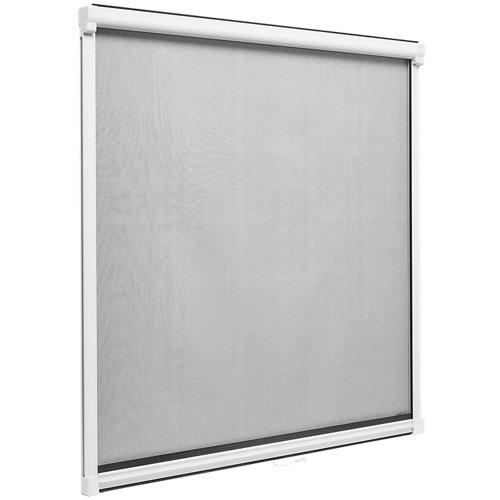 Mosquitera enrollable artens ventana con tela de fibra de vidrio de 120x120 cm