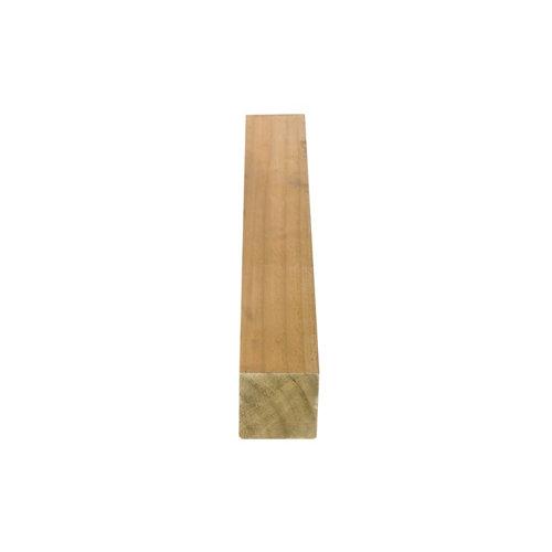 Poste de madera tintada cuadrado 7x7x180 cm