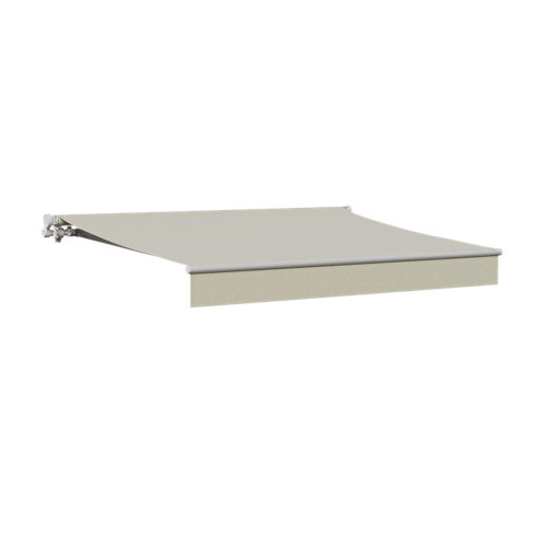 Comprar Toldo calima manual con tela beige de 2.5x2 m