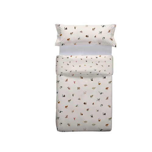 Funda nórdica animater multicolor para cama 90 / 105 cm