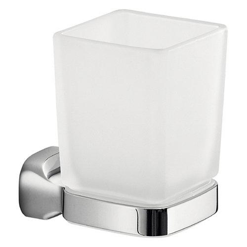 Vaso de baño stelvio cristal/cromo