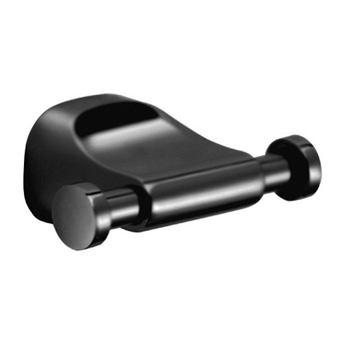 Percha de baño stelvio negro mate