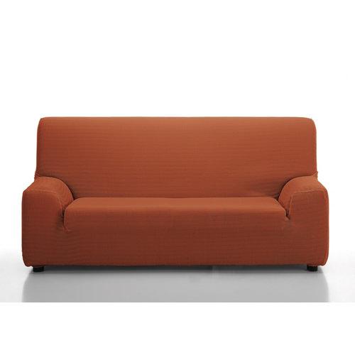 Funda sofá elástica playa teja 2 plazas