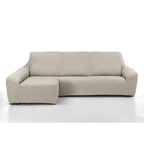 Funda chaise longue elástica manacor natural derecho