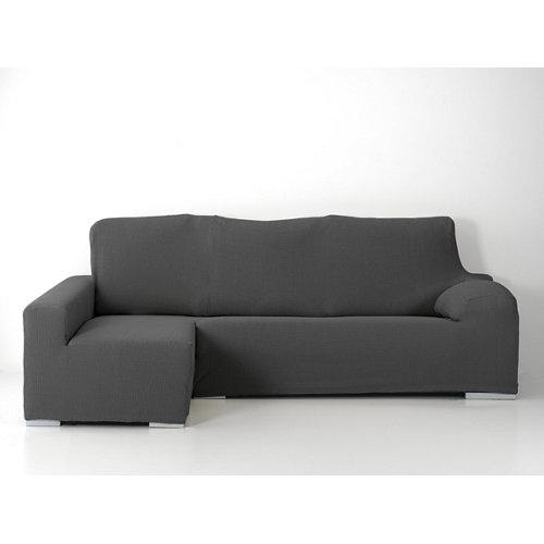 Funda chaise longue elástica edir gris derecho