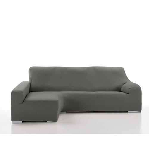 Funda chaise longue elástica enzo gris derecho