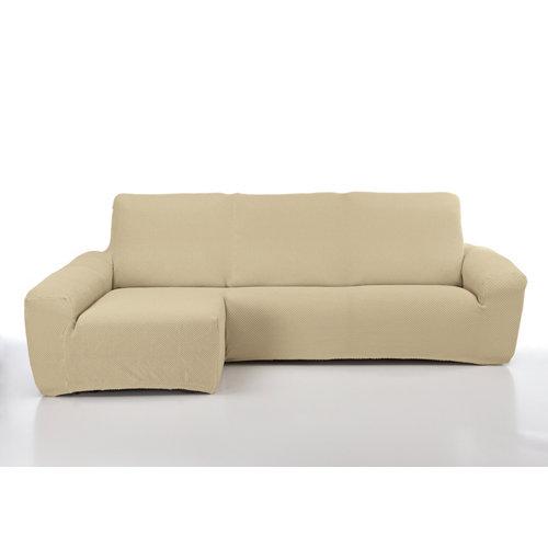 Funda chaise longue elástica erik beig derecho