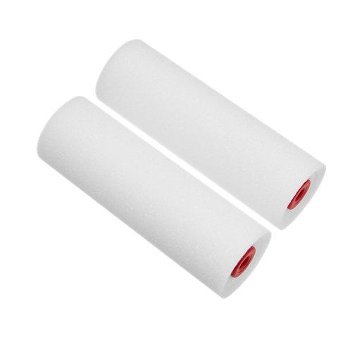 2 recambios de rodilllo espuma resinas dexter 11cm