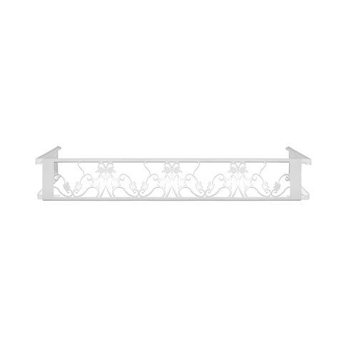 Portamaceteros desmontable floral blanco 100-140