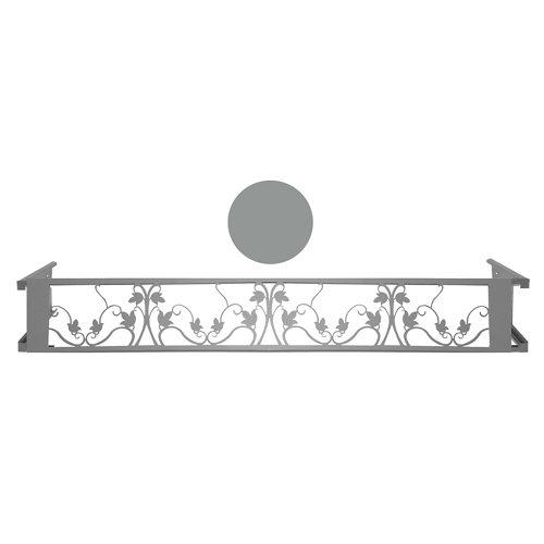 Portamaceteros desmontable floral gris 100-140