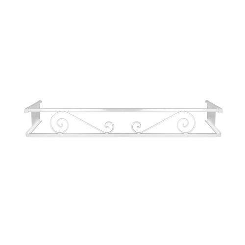 Portamaceteros desmontable volutas blanco 100-140
