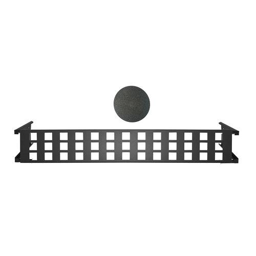 Portamaceteros desmontable cuadros negro forja 100-140