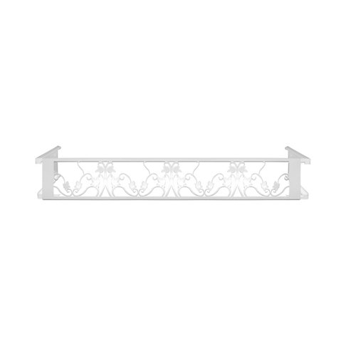 Portamaceteros desmontable floral blanco 60-100
