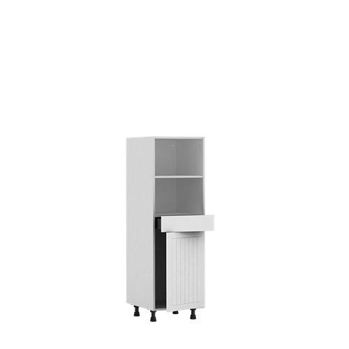 Armario cocina semicolumna delinia id toscane multiuso 137,6x60 cm 1 caj 1pta