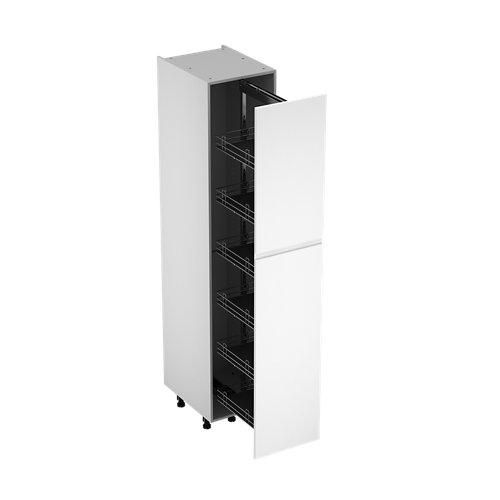 Columna de cocina delinia id sofía blanco 214,4x45 cm 1pta kit ext