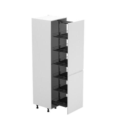 Semicolumna de cocina delinia id sofía blanco 214,4x60 cm 1pta kit ext