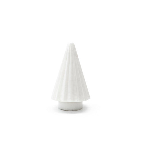 Árbol cristal blanco 13x13x20cm