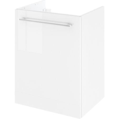 Mueble de baño con lavabo remix con 1 puerta blanco 45x35 cm