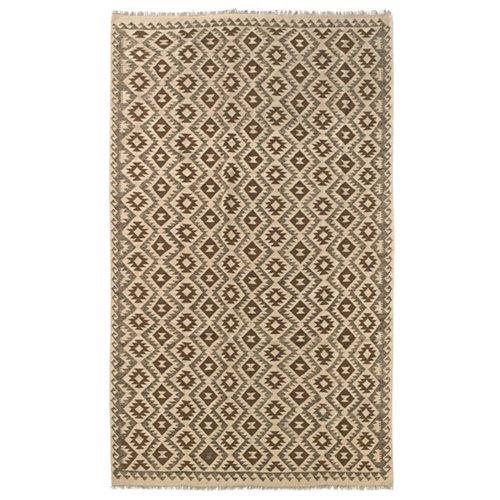 Alfombra multicolor lana kilim herat 1 200 x 300cm