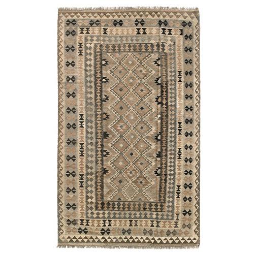 Alfombra multicolor lana kilim herat 3 200 x 300cm