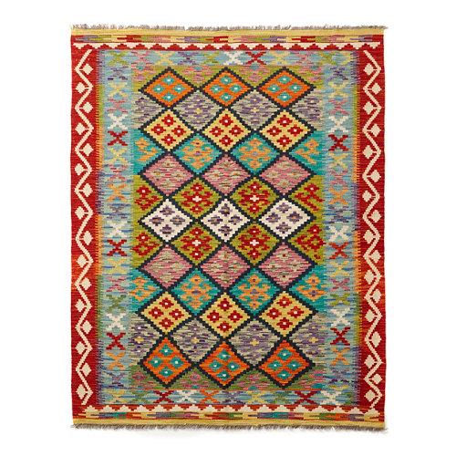 Alfombra multicolor lana kilim herat 2 120 x 180cm