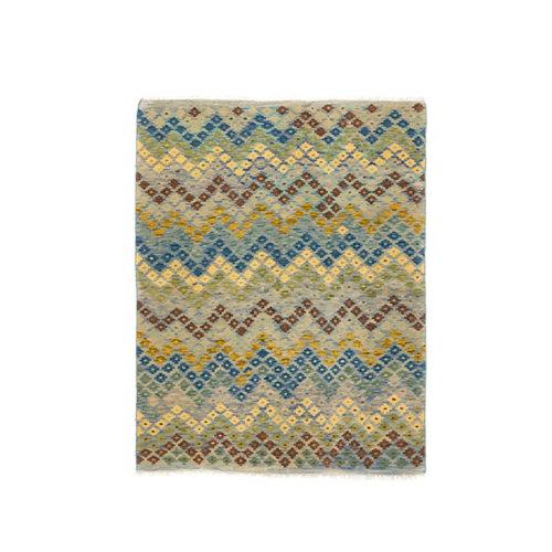 Alfombra multicolor lana kilim herat 1 150 x 200cm