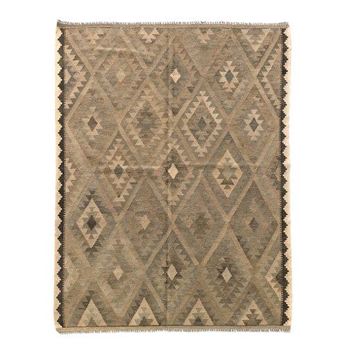 Alfombra multicolor lana kilim herat 4 150 x 200cm