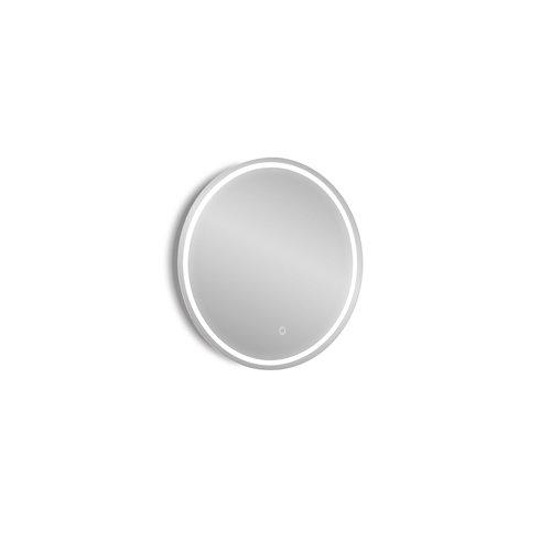 Espejo de baño con luz led mia 60 x 60 cm