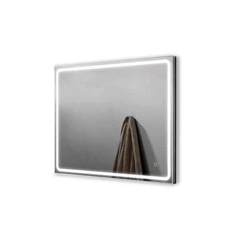 Espejo de baño con luz led mia 90 x 80 cm