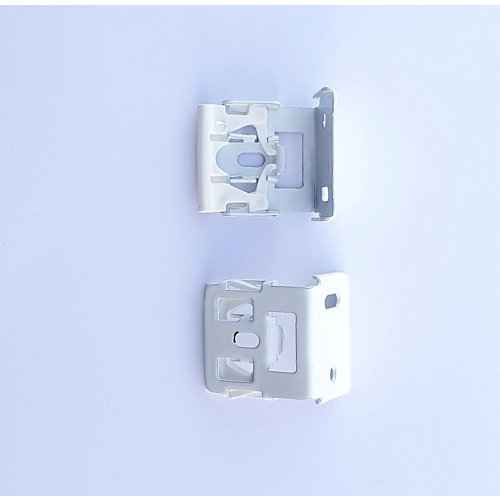 2 soportes perfil compacto paquetto blanco