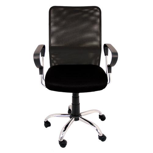 Silla de escritorio con respaldo helena negro