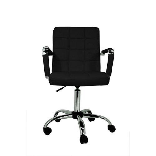 Silla de escritorio con respaldo isabella negro