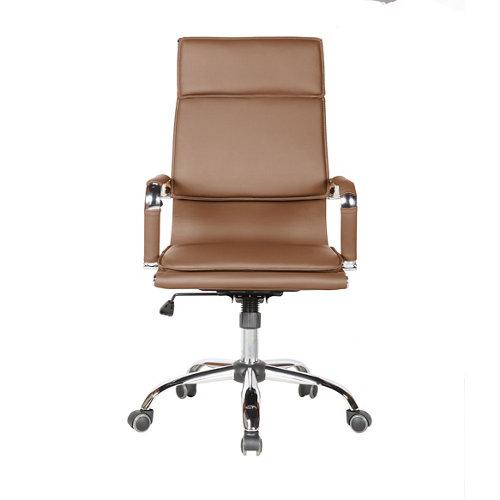 Silla de escritorio con respaldo jana marrón