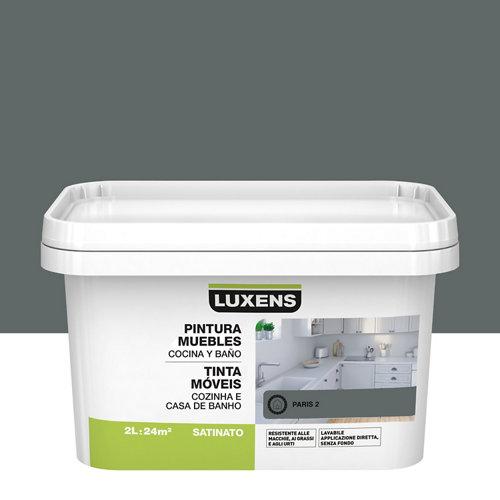 Esmalte para muebles de cocinas y baños satinado luxens 2l paris 2