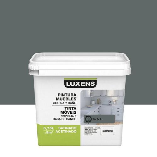 Esmalte para muebles de cocinas y baños satinado luxens 750ml paris 2