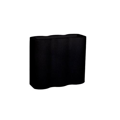 Maceta de polietileno palmera negro 90x80 cm