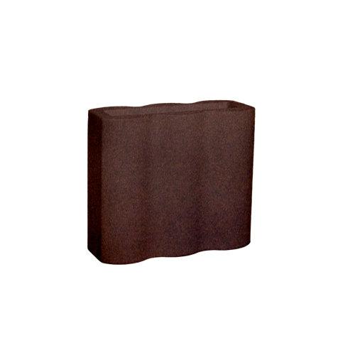 Maceta de polietileno palmera bronce 90x80 cm