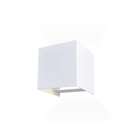 Aplique de exterior open 10w 4000k blanco