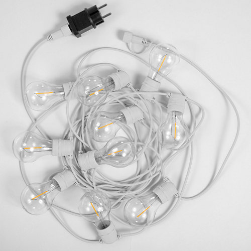 Guirnalda allegra 10 luces 4.5 metros 2700k blanca