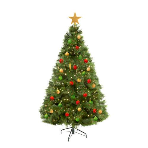 Lote de decoración navideña rústica