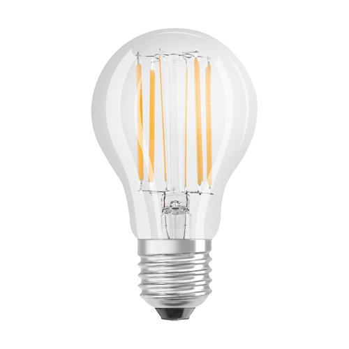 Pack10 bombillas led filamento esféricas dim e14 5w 4000k osram