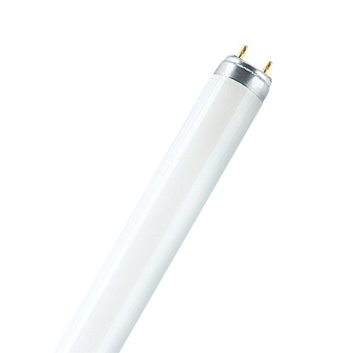Pack 10 tubos fluorescentes regulables de 36 w y tono de luz 8000k 3010lm osram