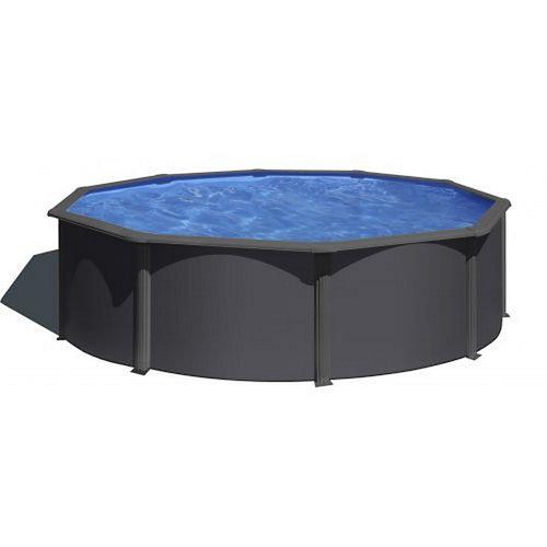 Piscina elevada de acero redonda gre 4.6x4.6 m