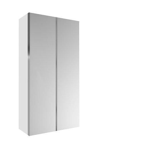 Armario spaceo home mallorca blanco corredera interior blanco 240x120x60cm