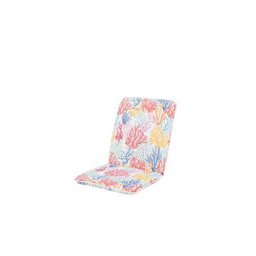 Cojín de exterior para silla y respaldo coral fond