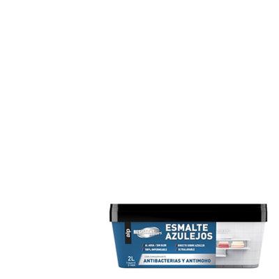 Esmalte azulejo para cocina y baño blanco ALP 2L